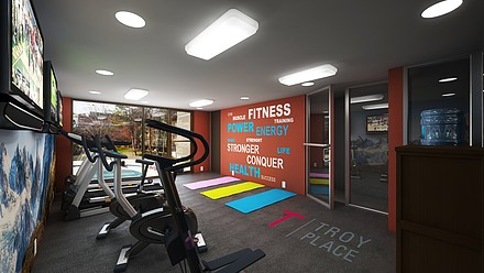 Coming Soon... State of the Art Fitness Center!